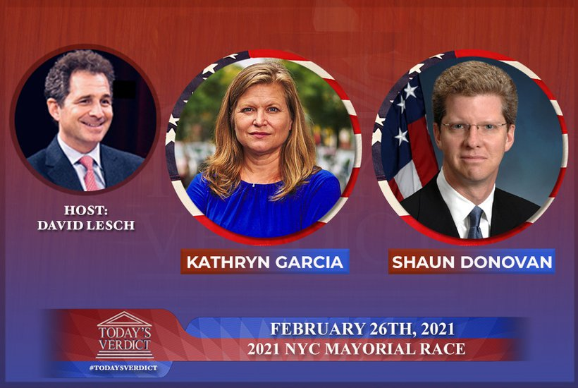Today's Verdict: The Race For Mayor with Kathryn Garcia and Shaun Donovan