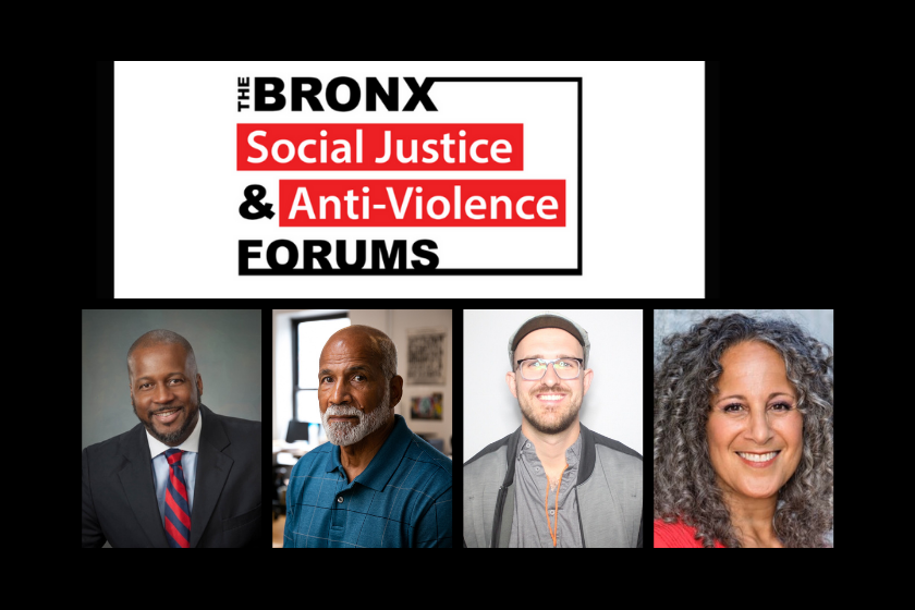 Bronx Social Justice and Anti-Violence Forums: February 25th