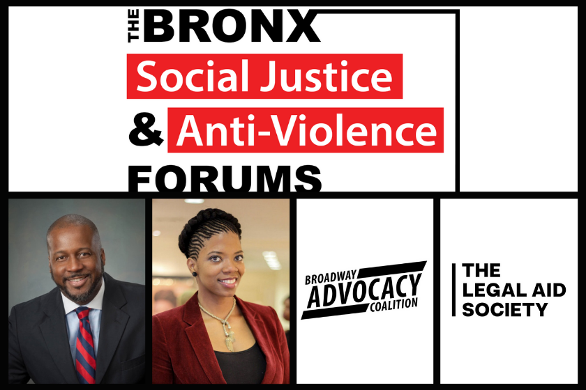 The Bronx Social Justice & Anti-Violence Forums: September 17th