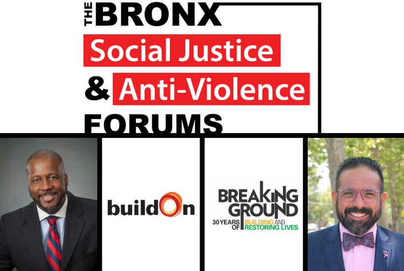 Bronx Social Justice and Anti-Violence Forums: August 13th