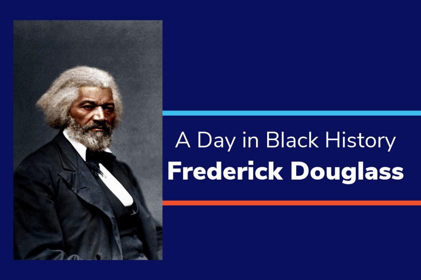 A Day in Black History: Frederick Douglass