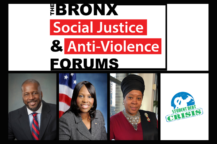 Bronx Social Justice and Anti-Violence Forums: November 19th